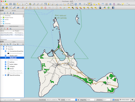 A B C  – Publish QGIS projects to the web