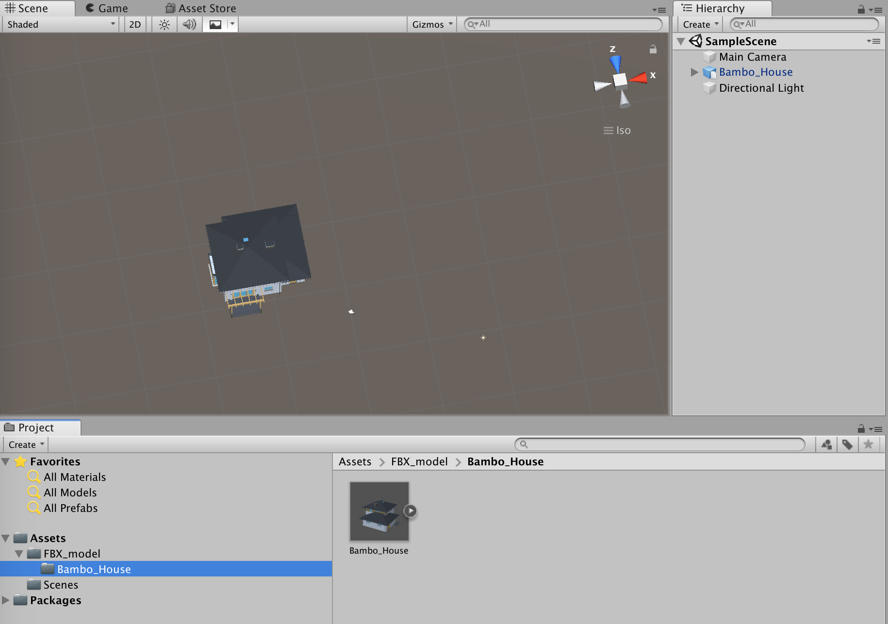 A B C  – Create a 3D model viewer with Unity 3D