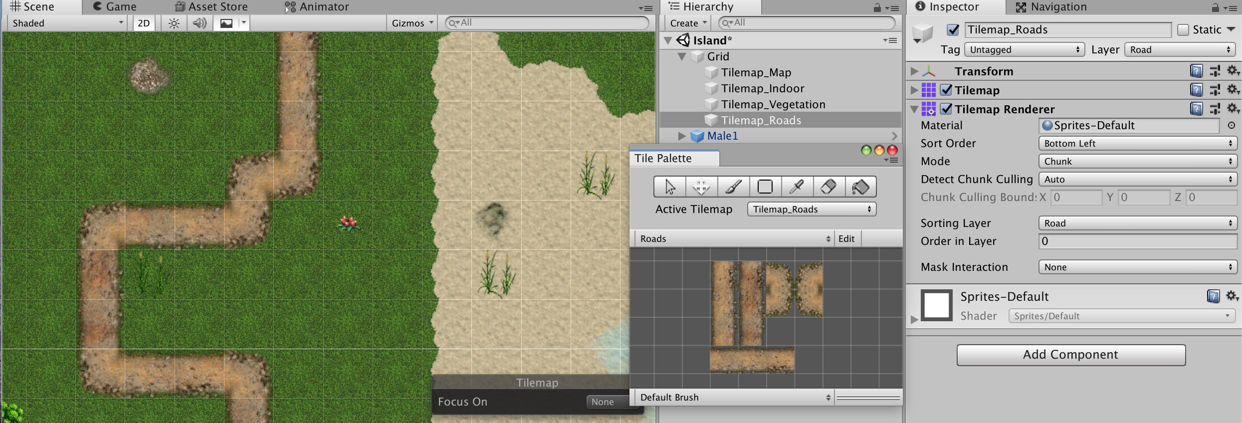 A B C  – Create an RPG